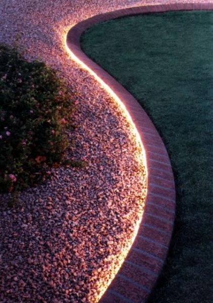 image: Garden design: Ogród po zmroku...