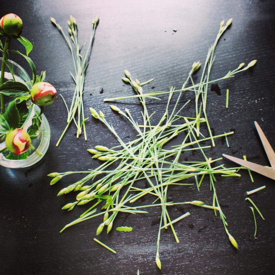 image: Bukiet z kwiatów ogrodowych...