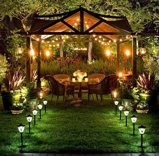 image: Wieczór w ogrodzie...